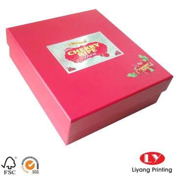 Custom packaging cardboard paper gift box