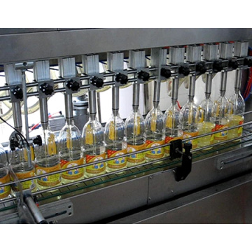 Full auto edible oil filling line