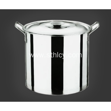 Tall Straight Shaped Non Magnetic Stainless Steel Bucket