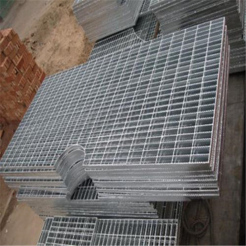 hot dipped galvanized Steel grating stairs