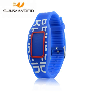 Fixed Competitive Price for Custom RFID Wristbands 125KHZ Smart Colorful Silicone Rfid Wristbands EM4200 supply to United Kingdom Manufacturers