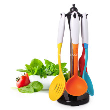 Factory directly provide for Steel Tube Kitchen Tools Multifunction Silicone Handle Nylon Kitchen Utensils supply to Armenia Manufacturer