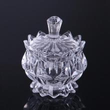 Crystal Glass Candy Box/Storage Jar With Lid