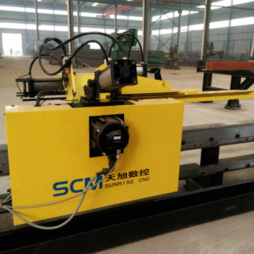 Automatic Steel Construction CNC Angle Drilling Machine