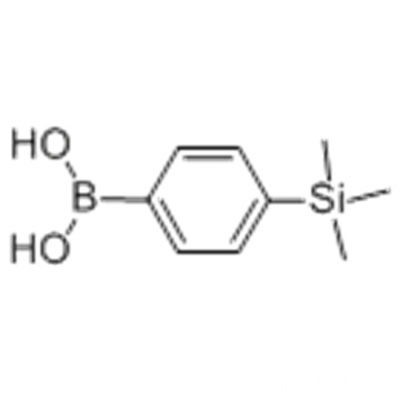 Boronic acid,B-[4-(trimethylsilyl)phenyl] CAS 17865-11-1