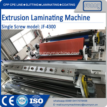 Woven Sacks Extrusion Lamination Coating Plant