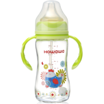Safe Infant Milk Bottle Feeding Glass Bottle