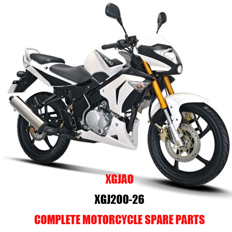 XGJAO XGJ200-26 Complete Scooter Spare Parts Original Spare Parts