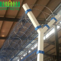 asily assembled airport security fence for protection