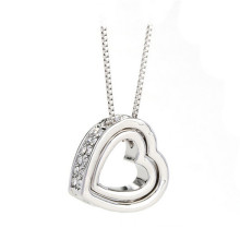 2015 New fashion jewelry heart Heart Necklace Pendant