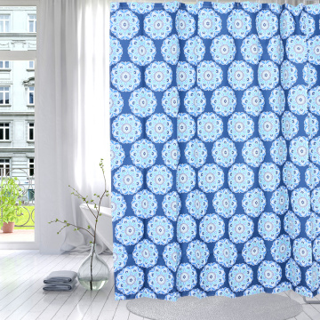 Good User Reputation for for Waterproof Shower Curtain Shower Curtain Polyester Mum Flower export to Switzerland Importers