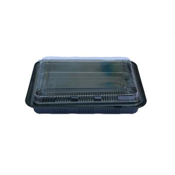 Disposable plastic takeaway food packaging containers