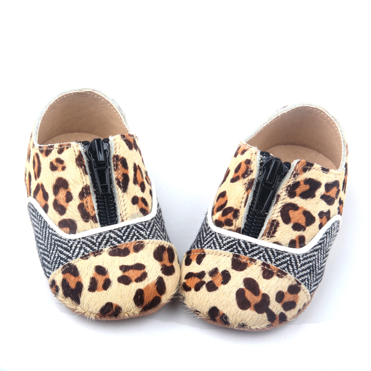 Leopard baby casual shoes