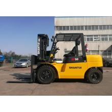 China for Mini 5 Ton Forklift Cheap Smart 4-Wheel 5 Ton Diesel Forklift supply to Colombia Supplier