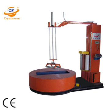 Automatic paper reel wrapping machine