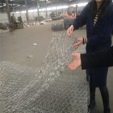 China Manufacturers for Gabion Retaining Wall Heavy Galvanized Gabion Wire Mesh supply to Russian Federation Wholesale