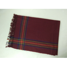 Personlized Products for Kids Scarf Imitation Cashmere Plaid Fahion And Warm Woven Scarf export to Ethiopia Manufacturer