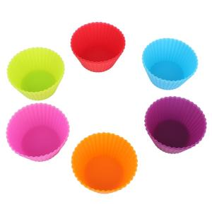 Silicone Cupcake Baking Muffin Liners