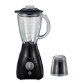 powerful glass jug ice crush milkshake blender mixer