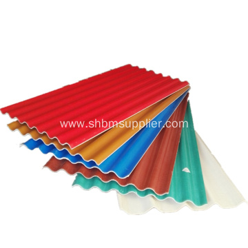 Fire Resistant Glazed Magnesium Oxide Roof Tiles