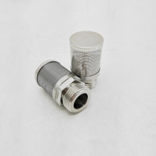 Wedge Wire Screen Filter Nozzle Elements