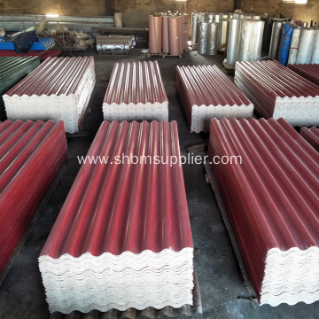 100% Non-asbestos Mgo Corrugated Roofing Panel