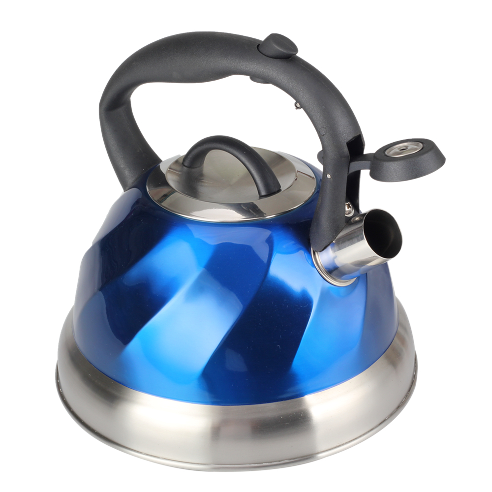 Stereo Perception Of Wave Shape Tea Kettle
