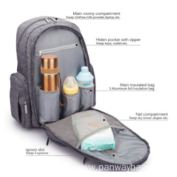 Fashion New Design Mummy Diaper Bag Backpack