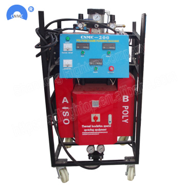 380V 9.5KW Spray Foam Insulation Equipment Untuk Roofing