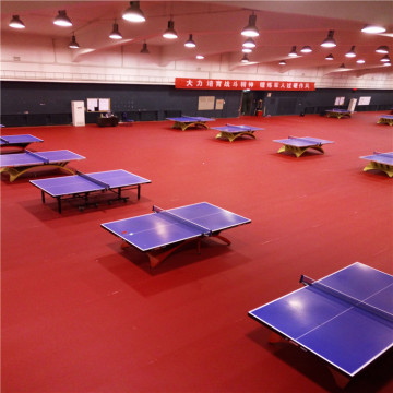 Table Tennis PVC Sports Flooring