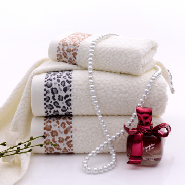 Creative Trendy Leopard Print Quality Bath Towels