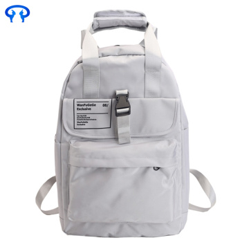 Leisure travel polyester waterproof backpack