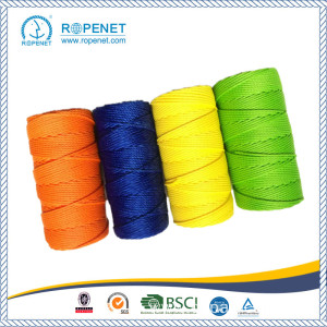 Reliable for 3 Strand Twisted Twine Colorful Polyester Twisted Twine with Reasonable Price supply to Guam Factory