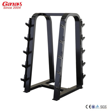 Factory best selling for Cardio Gym Equipment Ganas High Quality Fitness Equipment Barbell Rack export to United States Factories