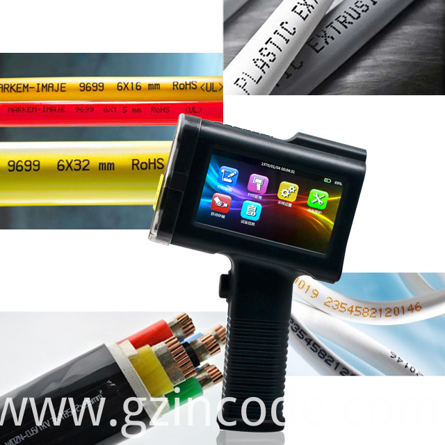 INCODE Light Weight Handheld Online Thermal Inkjet Printer