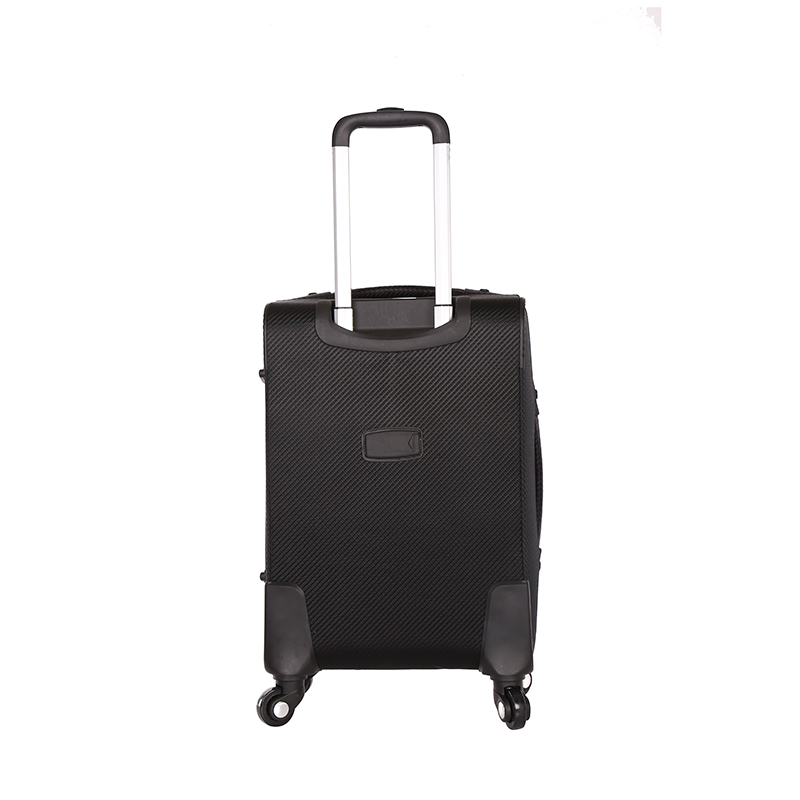 Custom nylon suitcase spinner wheels luggage 3