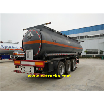3 Axle 19000 Litres Sulfuric Acid Trailer Tankers