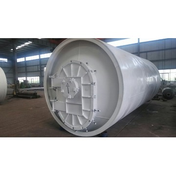 no pollution MSW pyrolysis processing equipment