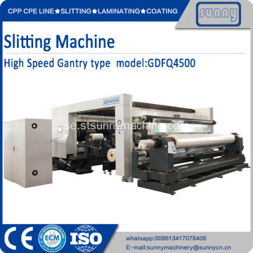 SUNNY MACHINERY slitting maskiner GDFQ4500