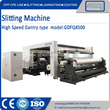 Large rewind diameter slitting GDFQ4500
