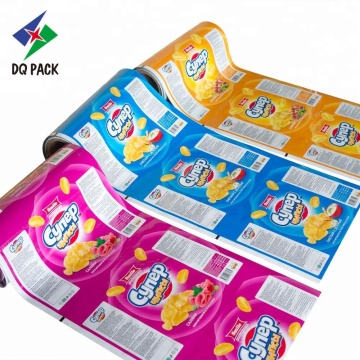 Packaging Roll Film For Snack Stock Food