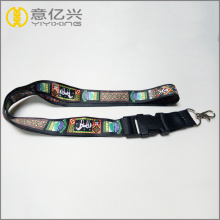 Shenzhen YYX Factory polyester lanyard with plastic buckle