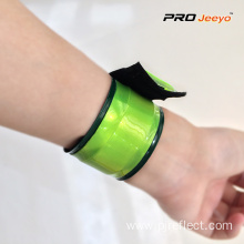 Fluorescence Yellow Safety PVC Hi Vis Wristband