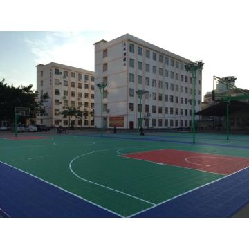 PP Outdoor Multi-use Court Tiles