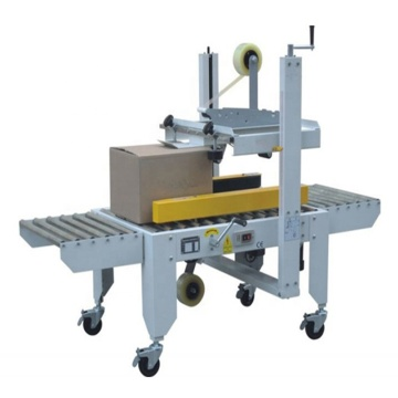 Different size case box carton sealing machine