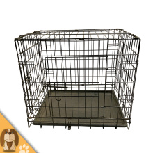 Black Folding Pet Dog Cage