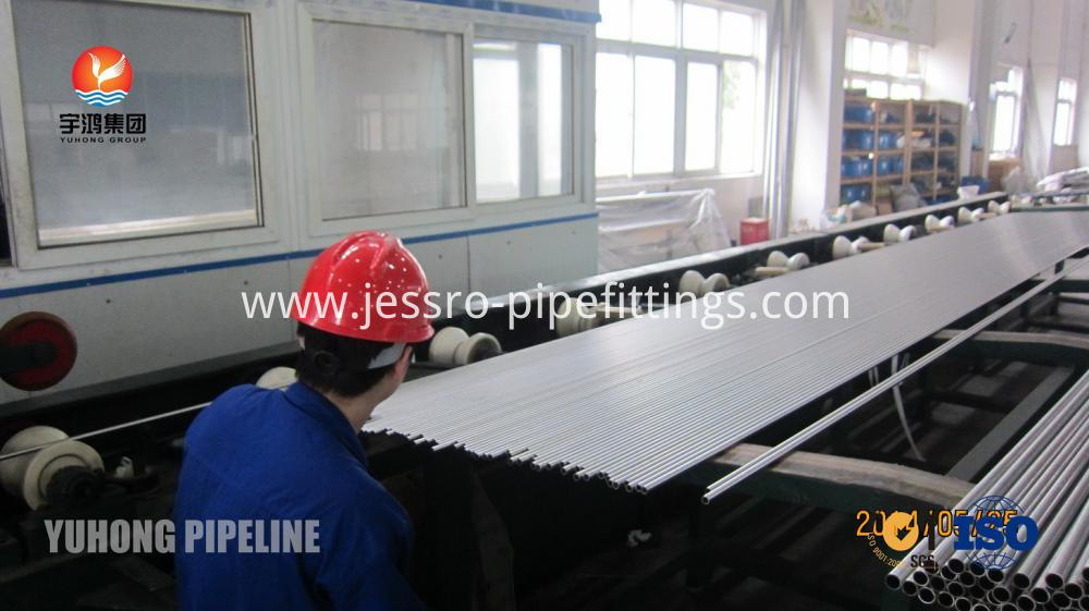 Bright Annealed Stainless Steel Tube ASTM A269 TP304L for  heat exchanger