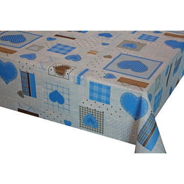 Elegant Tablecloth with Non woven backing Hs Code