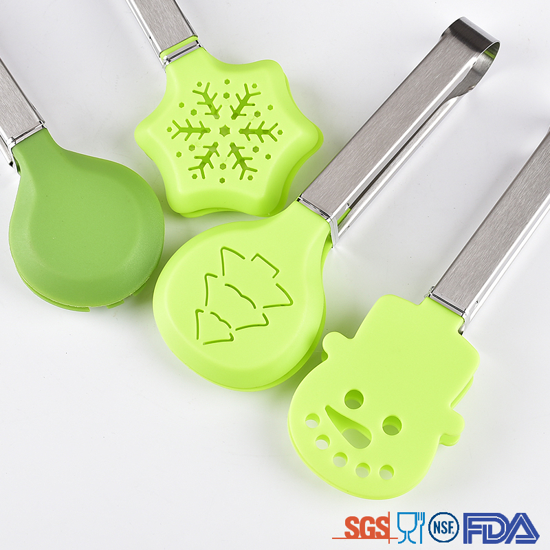 Christmas Design Nylon Tongs
