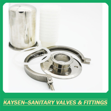 SMS Sanitary air filter rebreather